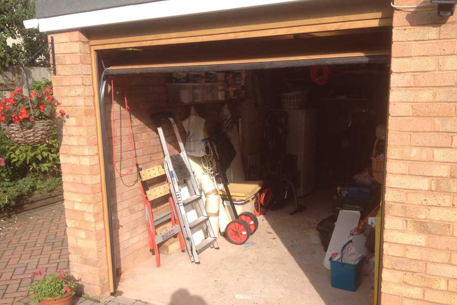 garage door alterations